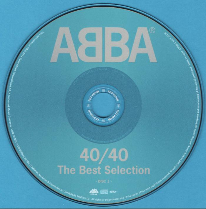 ABBA - 40/40 The Best Selection