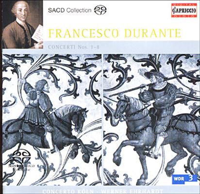 Dsd Durante Concerti Nos 1 5 8 Concerto Koln
