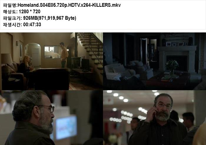 Homeland.S04E05.HDTV.x264-KILLERS English …